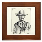 Lawman Framed Tile