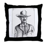 Lawman Throw Pillow