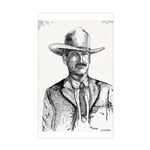Lawman Rectangle Sticker