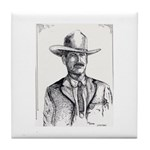 Lawman Tile Coaster