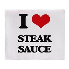 steak sauce Throw Blanket