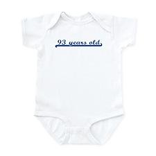 93 years old (sport-blue) Infant Bodysuit