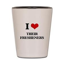 their fresheners Shot Glass