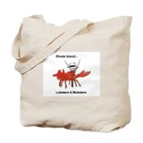 Rhode Island Tote Bag Lobsters, Mobsters Beach Bag