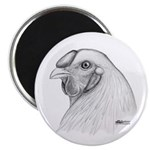 Chantecler Rooster Head Magnet