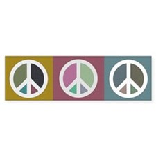 PEACE SIGNS Bumper Bumper Sticker