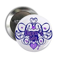 Daddy's Girl Blue/Lavender Button
