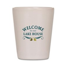 Welcome Lake House Shot Glass