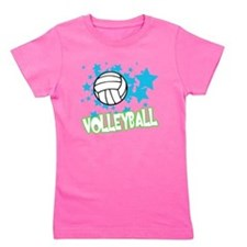 Cute Female player Girl's Tee