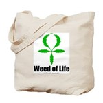 Weed of Life tote bag