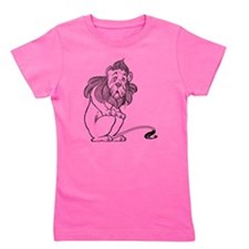 Cowardly Lion from the Wizard of Oz Girl's Tee