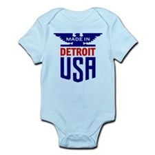 Made in USA Detroit Body Suit