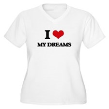 my dreams Plus Size T-Shirt