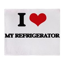 my refrigerator Throw Blanket