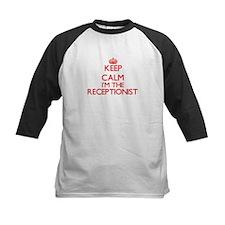 Keep calm I'm the Receptionist Baseball Jersey
