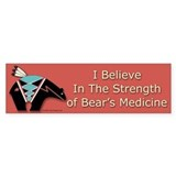 Bear Fetish #2 Bumper Bumper Sticker
