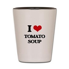 tomato soup Shot Glass