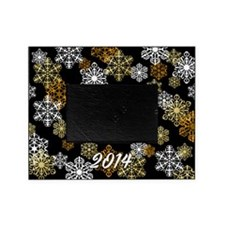 2014 Holiday Winter Snowflake Photo Picture Frame