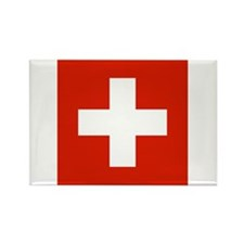 Swiss Flag Rectangle Magnet