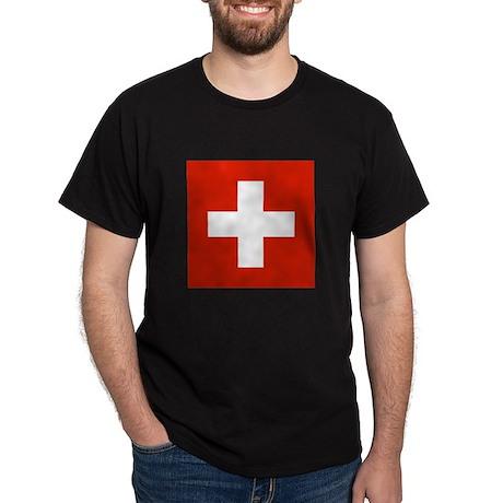 Swiss Flag Dark T-Shirt