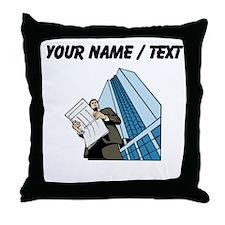 Custom Architect Throw Pillow