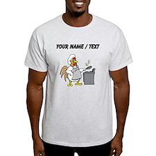 Custom Chicken Flipping Eggs T-Shirt