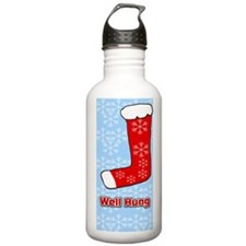 Well Hung Stocking Water Bottle