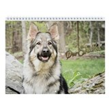 Shiloh shepherd boutique Wall Calendars