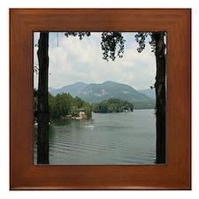 Lake Lure Framed Tile