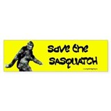 Save the Sasquatch Bumper Sticker