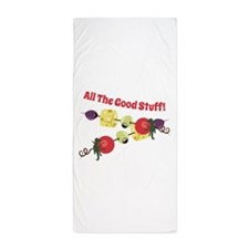 All The Good Stuff Beach Towel