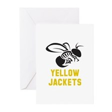 YELLOW JACKET Greeting Cards