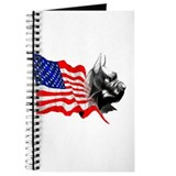 Funny Wilson flag Journal