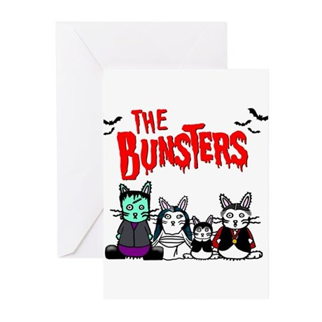 Bunsters Greeting Cards (Pk of 10)