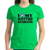 I Love My Scottish Husband Tee