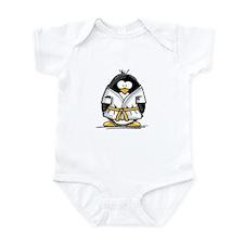 Martial Arts gold belt pengui Infant Bodysuit