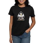 Martial Arts brown belt pengu Women's Dark T-Shirt