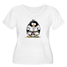 Martial Arts brown belt pengu T-Shirt