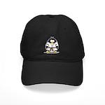 Martial Arts brown belt pengu Black Cap
