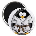 Martial Arts brown belt pengu Magnet