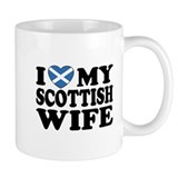 I Love My Scottish Wife Small Mug