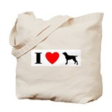 I Heart Bracco Italiano Tote Bag