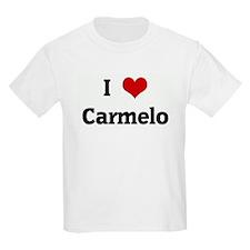 I Love Carmelo T-Shirt