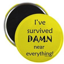 "I've Survived 2.25"" Magnet (100 pack)"