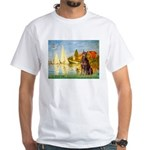 Regatta / Red Doberman White T-Shirt