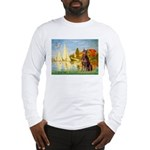 Regatta / Red Doberman Long Sleeve T-Shirt