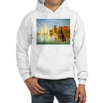 Regatta / Red Doberman Hooded Sweatshirt