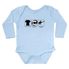 Cute Pablo Long Sleeve Infant Bodysuit