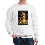 Fairies & Red Doberman Sweatshirt