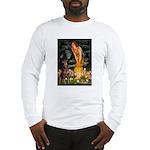 Fairies & Red Doberman Long Sleeve T-Shirt